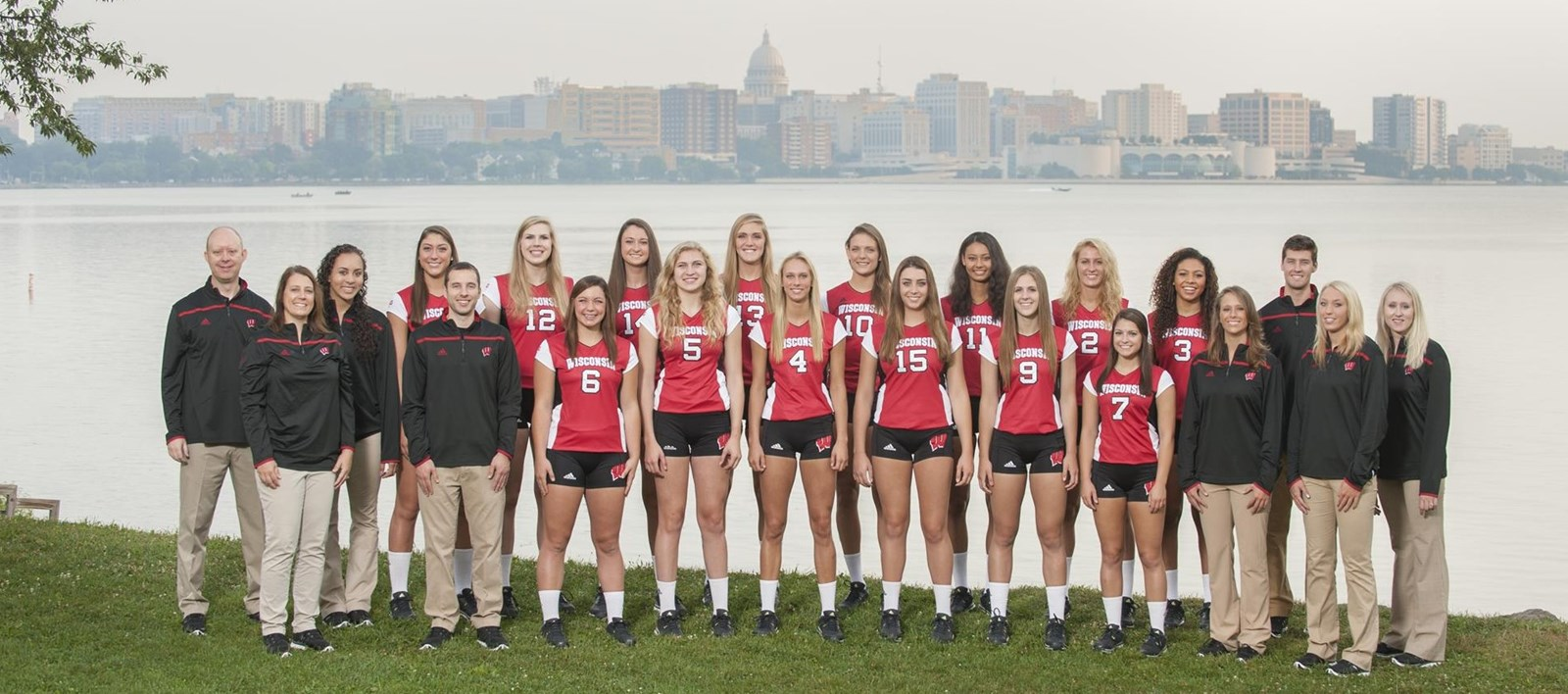 2015 Volleyball Roster Wisconsin Badgers