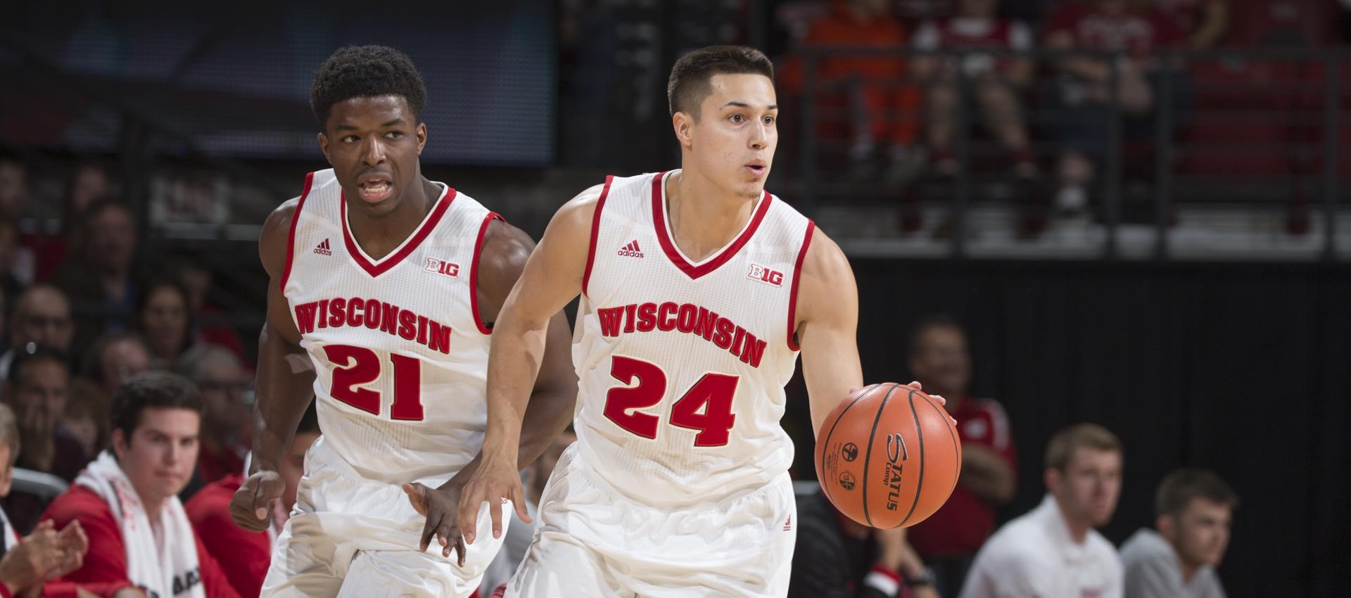 Hayes saves the day | Wisconsin Badgers