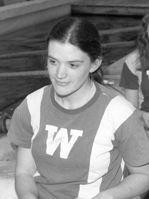 Carie Graves 1991 Uw Athletic Hall Of Fame Wisconsin Badgers
