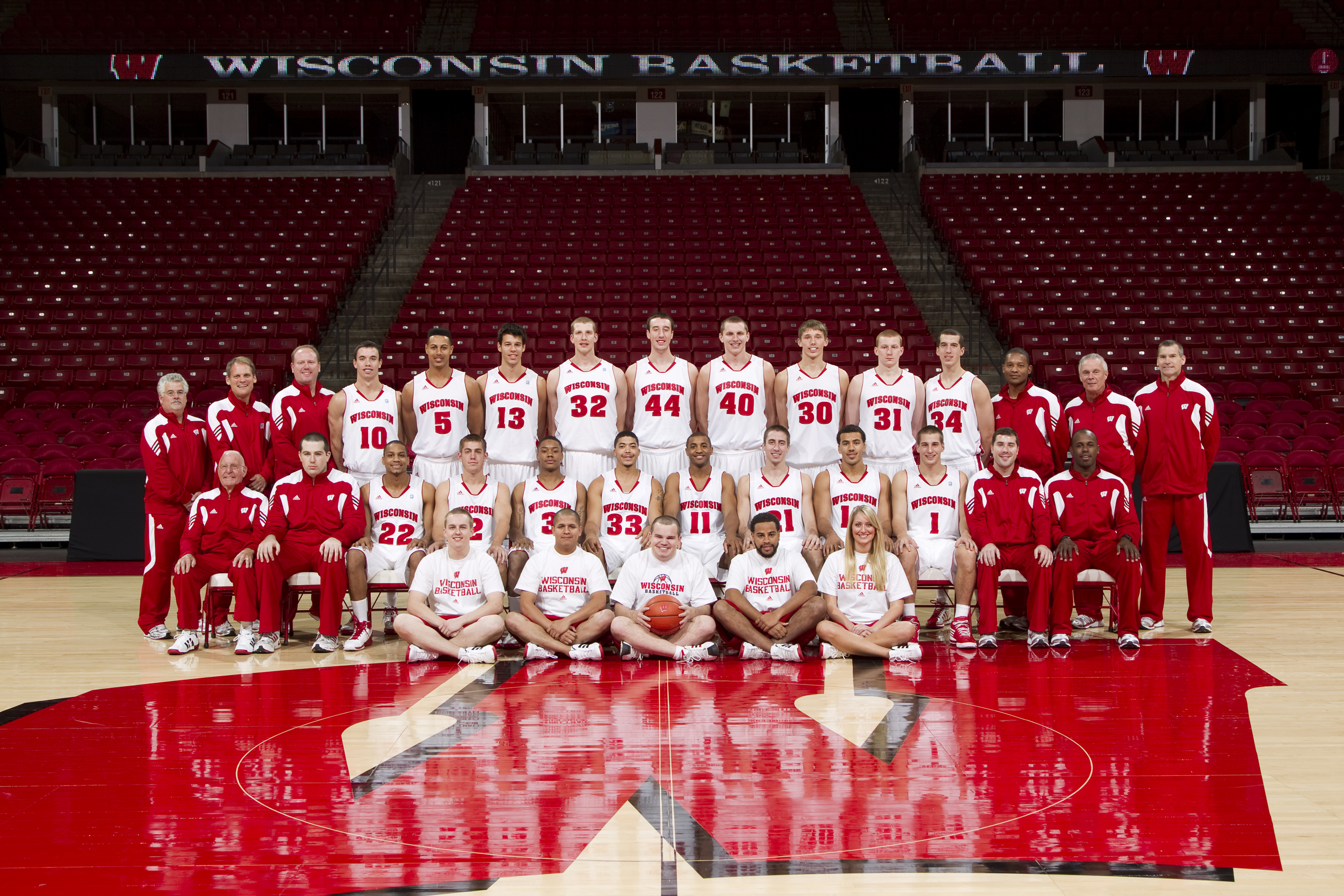 year-by-year history - men's basketball | wisconsin athletics