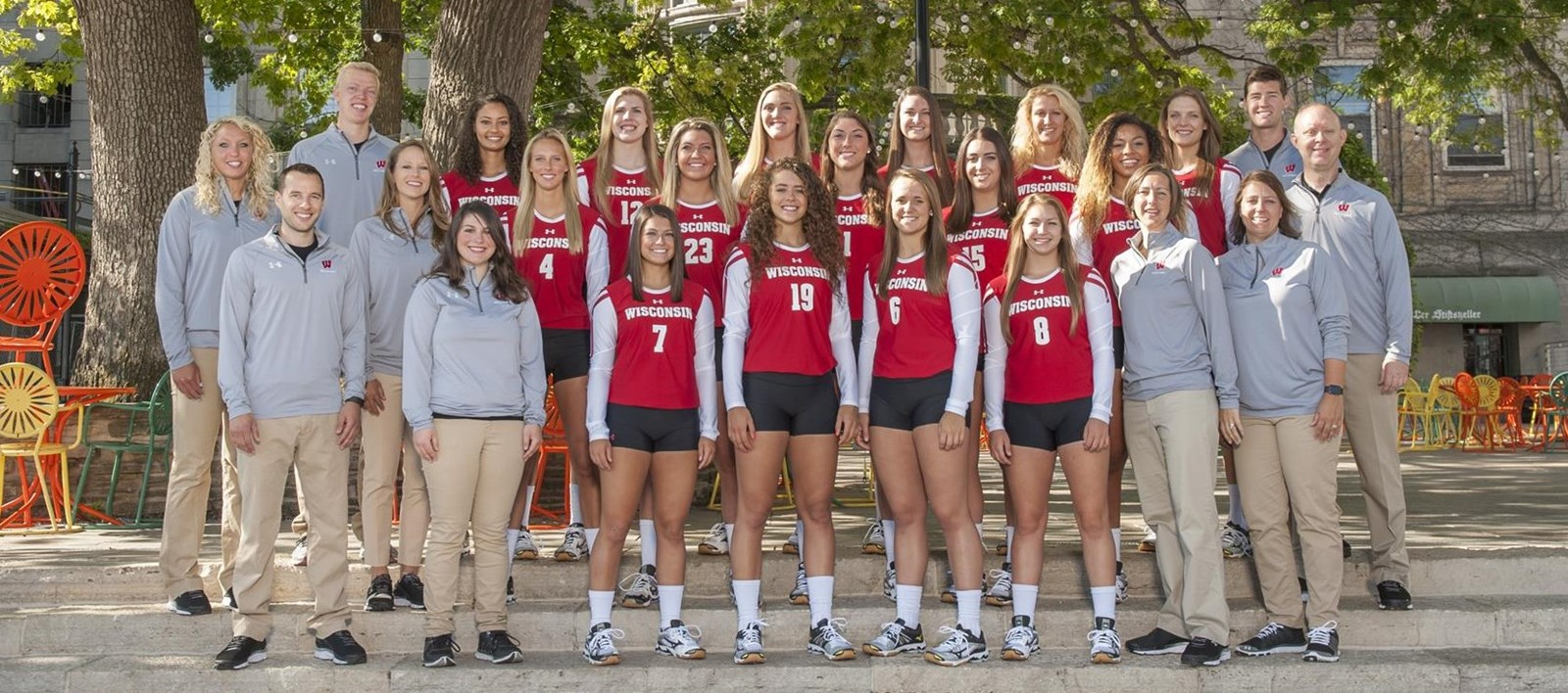 2016 Volleyball Roster Wisconsin Badgers