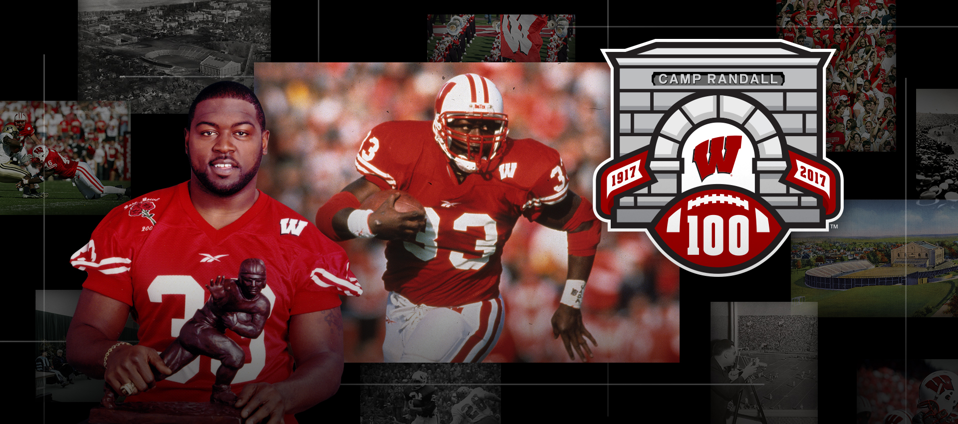 Camp Randall 100: Ron Dayne | Wisconsin Athletics