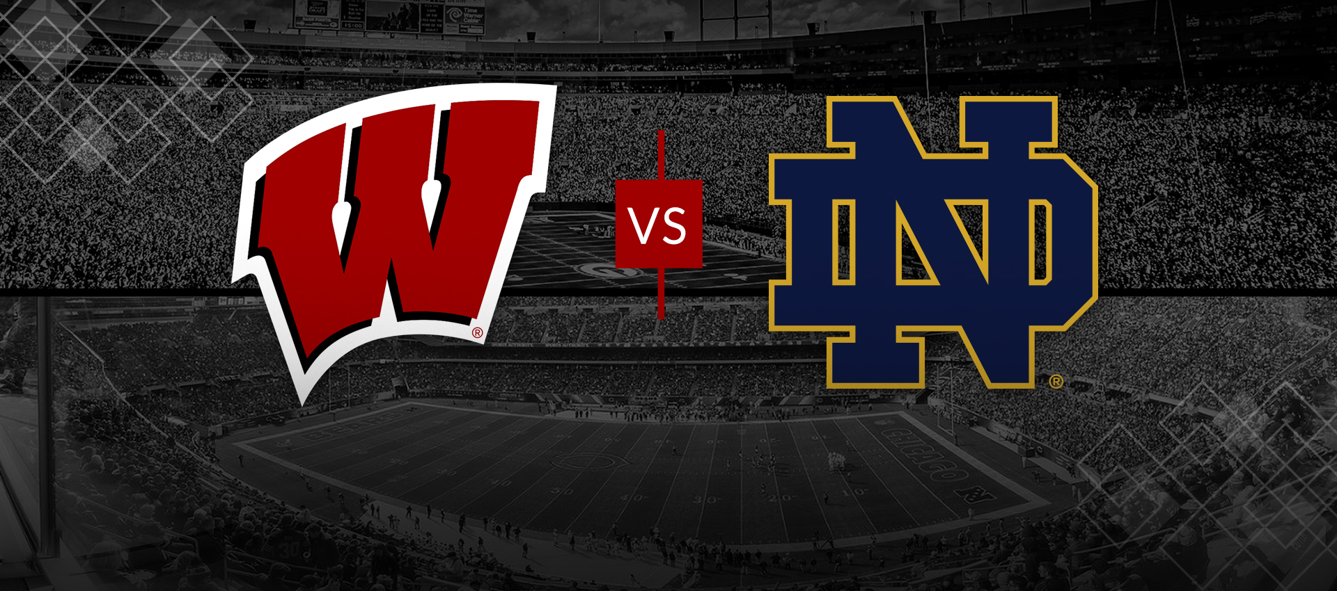 Branding Bascom Hall With Big Red W >> History In The Making Wisconsin Notre Dame Set To Meet Once Again