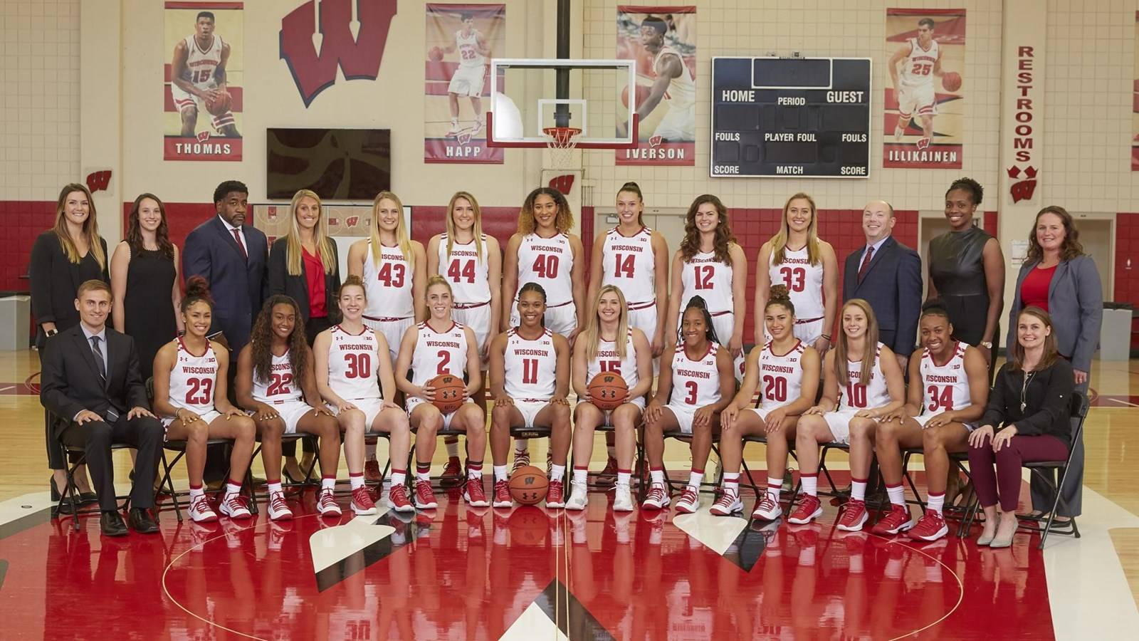 2018 19 women s basketball roster wisconsin athletics