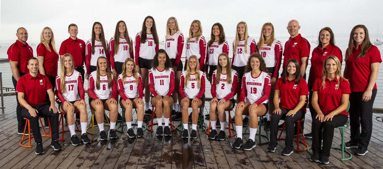 2018 Volleyball Roster Wisconsin Badgers