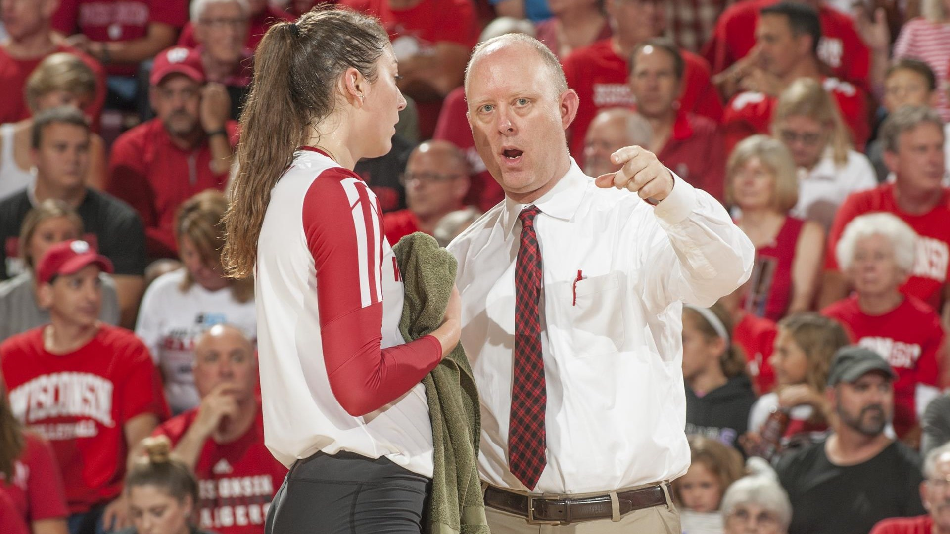 Registration Open For Badger Volleyball Camps Wisconsin Badgers