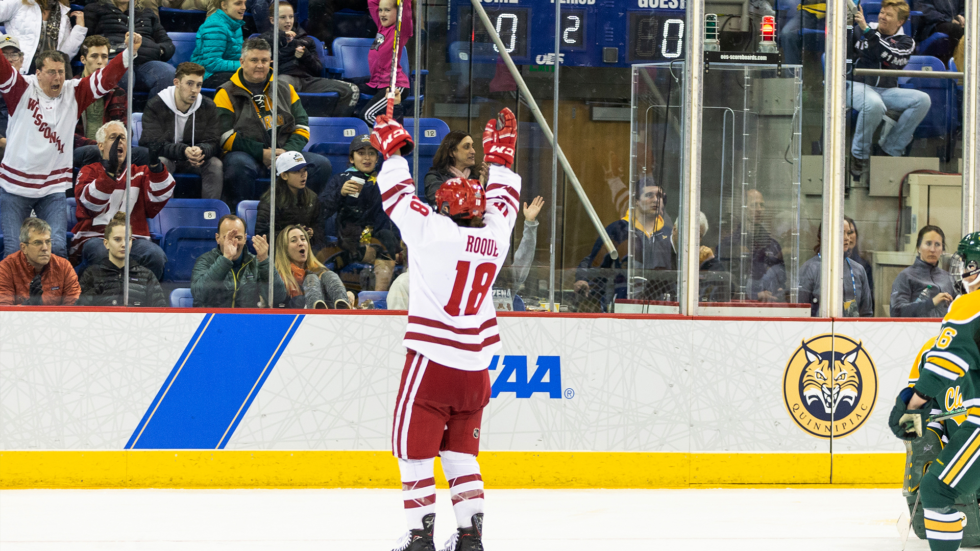 Roque named NCAA First Star of the Week
