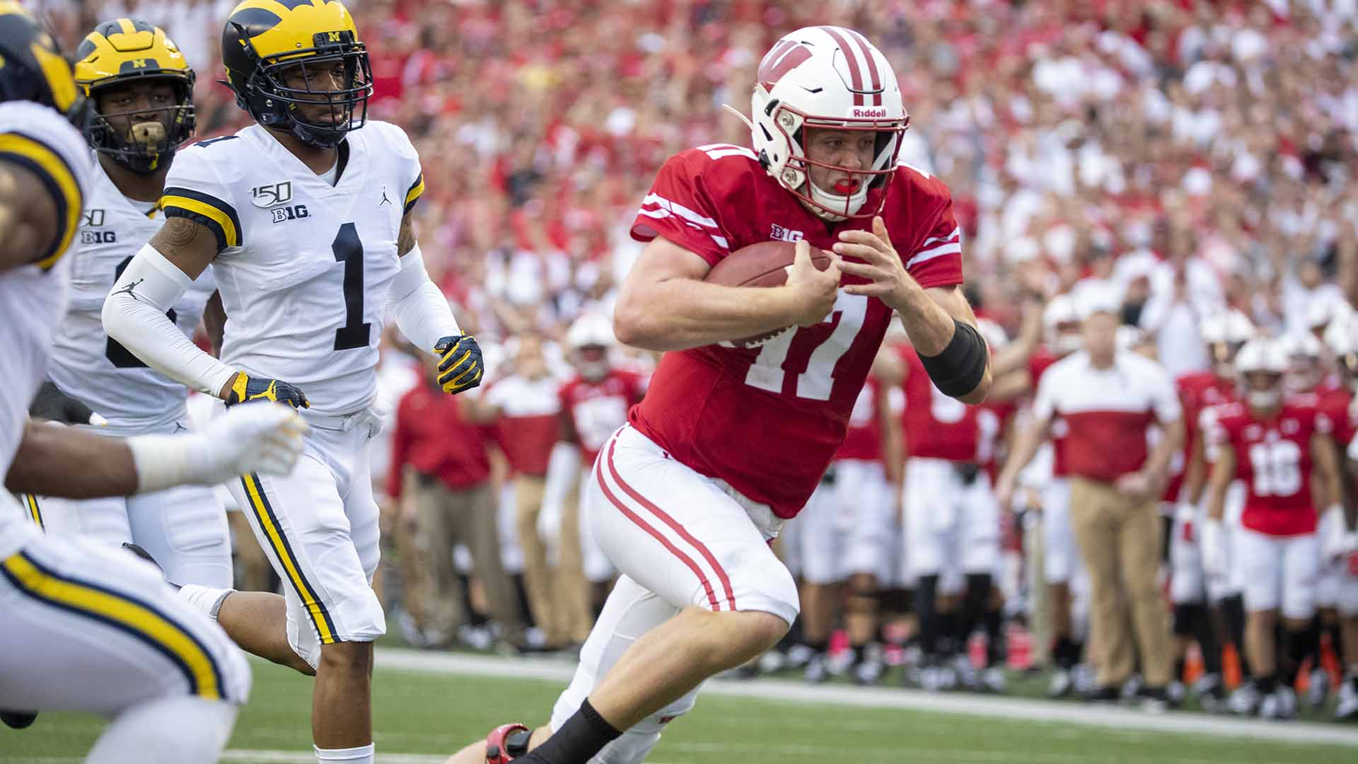 Lucas Win Against Michigan Answers Questions Silences