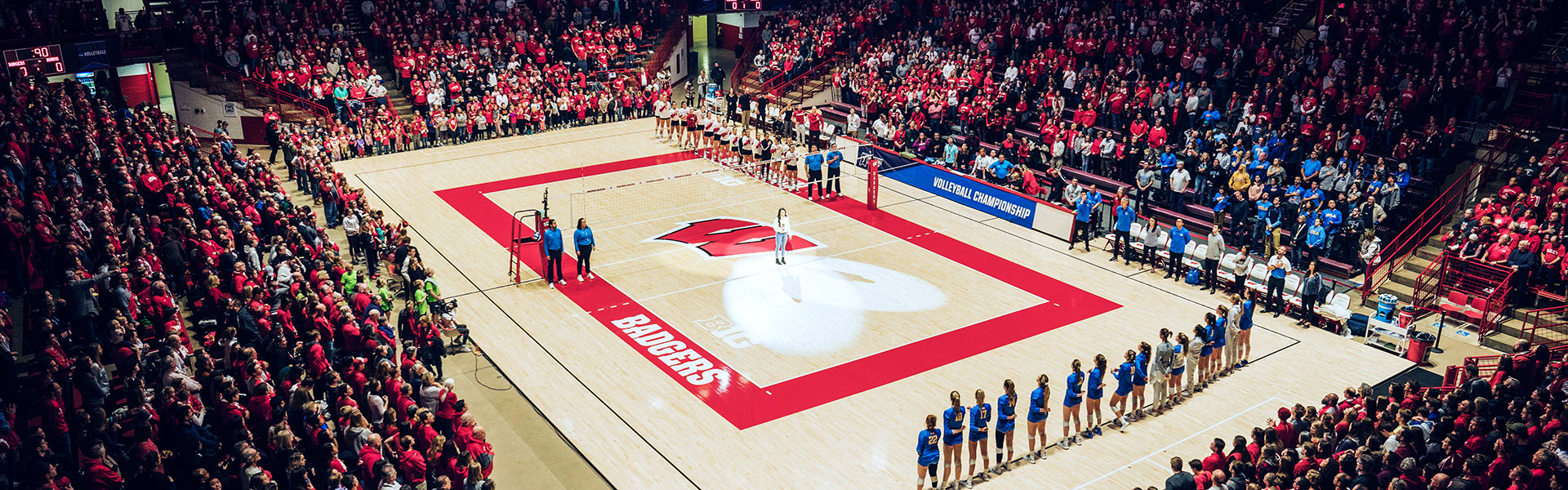 Volleyball Home Away Single Match Tickets Wisconsin Badgers
