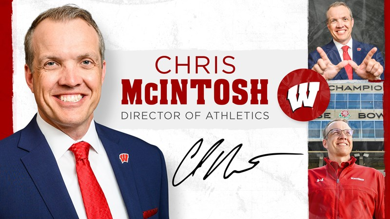 McIntosh named Director of Athletics   Wisconsin Badgers